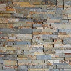Ochre Rock Panels thin veneer stone from Baltazar's Stone