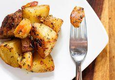 Dijon Mustard and Herb Roasted Potatoes