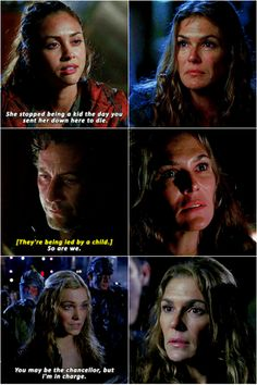 Abby gets wrecked || The 100 || Dr Abby Griffin, Raven Reyes, Marcus Kane, Clarke Griffin || Paige Turco, Lindsey Morgan, Henry Ian Cusick, Eliza Jane Taylor
