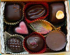 Lagusta's Chocolate Of The Month (vegan, dairy free, farm-to-box, organic)