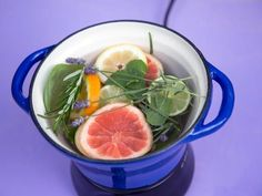 HGTV.com shows you how to use herbs, citrus fruit and citronella essential oil in a slow cooker to keep mosquitoes away all summer long.