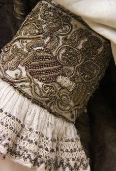 Detail - Louis II and Maria von Habsburg's dress, King of Hungary and Bohemia, 16th century