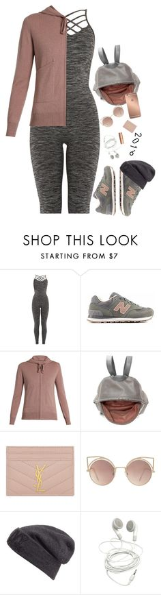 """Best Trend 2016: ATHLEISURE"" by hollowpoint-smile ❤ liked on Polyvore featuring New Balance, STELLA McCARTNEY, Yves Saint Laurent, MANGO, Mura and Ivy Park"