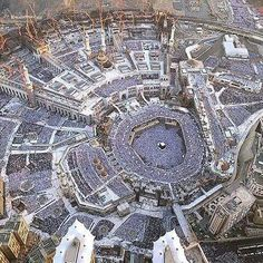 A non-Muslim said to a Muslim: it's impossible to arrange all those people in Makkah's holy mosque!! The muslim : it's definitely possible! Non-Muslim: so let's bet then ! The Muslim: ok. Non-Muslim: so i can show you that it's impossible just by looking at the mosque..because there's a huge amount of people there..but maybe in a few days you can arrange them... The Muslim: and i bet u that only in a few minutes they'll all be Arranged! Non-muslim : how is that?! Muslim: wait a few…