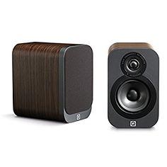 Q Acoustics 3010 Compact Bookshelf Speakers - (Pair) (American Walnut)