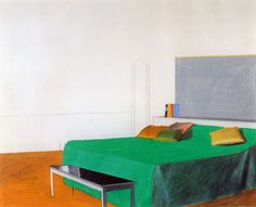 "David Hockney | ""Bedroom"", 1966. 
