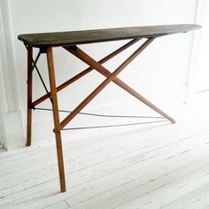 antique wooden folding ironing board rustic by @seaglassvintage, $120.00