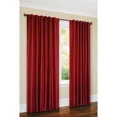 Canopy Faux-Silk Thermal Interlined Curtain Panel, 54x84 #WalmartGreen