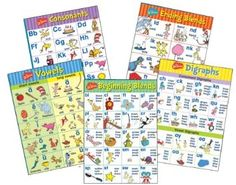 Take a look at this Dr. Seuss Phonics Bulletin Board Set by Eureka on today! Preschool Learning Toys, Teaching Phonics, Teaching Kids, Phonics Lessons, Colorful Bulletin Boards, Art Bulletin Boards, Phonics Bulletin Board, Ingles Kids, Phonics Programs