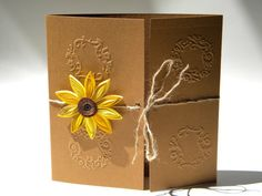 Sunflower wedding invitation / Sunflower wedding / by ancamilchis, $2.70