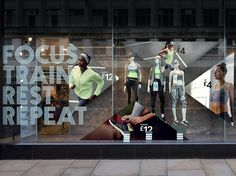 Primark Workout 2015  Retail Graphics, Retail Design, Retail Designers, Brand Identity, Photography