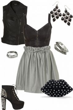 Dressy grunge outfit #style #outfit