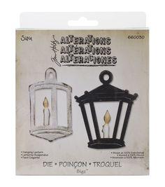 Sizzix Bigz Tim Holtz Hanging Lantern Die