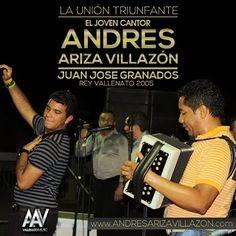 @AndresArizaV y @JuanRey2005 , Aclamados en Montería - http://wp.me/p2sUeV-3LK  - Noticias #Vallenato !
