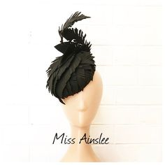 FEATHERED in black by @murleyandcomillinery ... available now to hire ... see the website for the full hire range (link in bio) ❤️ www.murleyandco.com Fascinator Hats, Fascinators, Range, Website, Inspired, Link, Instagram Posts, Dress, Beautiful