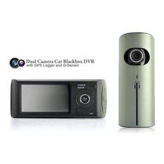 Wallmart.win Dual Camera Car Blackbox DVR with GPS Logger and G Sensor: Vendor: CNV Type: Car DVRs Price: 54.73 Keep yourself protected…
