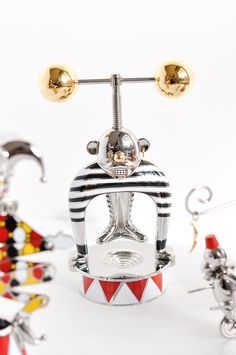 Alessi Circus ltd edition collection by Marcel Wanders - The Nutcracker — available at Corifeo Brasschaat — www.corifeo.be