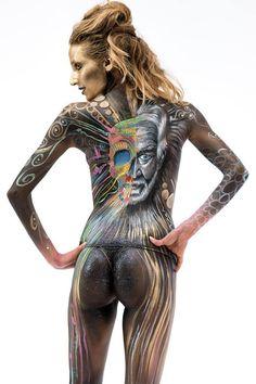 L' Arte del Bodypainting interpretata dall' Artista Diego Bormida.