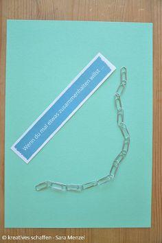Wenn du mal etwas zusammenhalten willst ...   Wenn Buch | Bastelanleitung | Wenn Buch Ideen | Wenn Buch basteln | Geschenksidee | selbstgemachte Geschenke