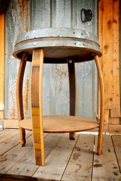 King Crown End Table — King Barrel