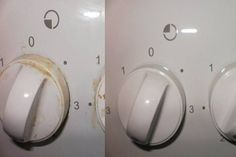 Learn how to remove grease and dirt deposited on the stove's handles without using chemicals. Cleaning Solutions, Cleaning Hacks, Cleaning Products, Cleaning Recipes, Clean Black Mold, Clean Stove Top, Limpieza Natural, Toxic Mold, Urine Stains