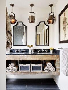 Gorgeous modern and elegant bathroom vanity