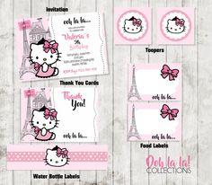 Party Package /Hello Kitty Party / Hello Kitty por CreativaDesignCo