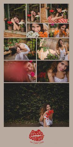 Fator Quinze Fotografia - Primavera - 15 anos - Fator Quinze - Foto - Fotografia - Foto com Flores - Flores - Lindas - Laranja - Vermelho - Branco - Rosa - Flores Coloridas - Debutante - Foto de 15 anos - Quinze Anos