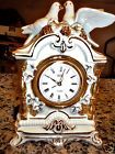 Vintage Landex Royal Craft Wind Up Alarm Clock Made in Japan Porcelain & Birds Vintage Mantel Clocks, Royal Craft, Telling Time, Alarm Clock, Porcelain, Birds, Japan, Projection Alarm Clock, Porcelain Ceramics