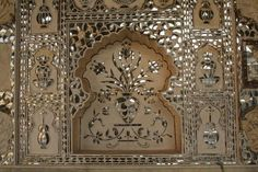 mirror murals - kutchi - gujarati - lippan kam on Pinterest | Mud ...