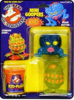 THE REAL GHOSTBUSTERS MINI GOOPERS ACTION FIGURE