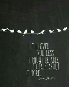Often the truest feelings are best expressed through simple words.