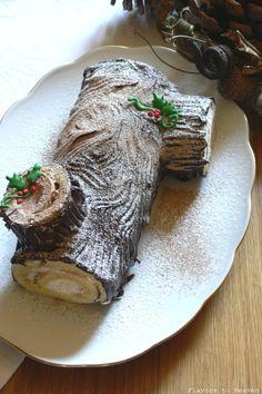 Buche De Noel also known as a Yule Log Here's the recipe : www.marthastewart.com/316828/yule-logs