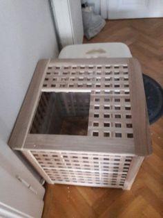 diy katzenklo hol ikea hacks pinteres. Black Bedroom Furniture Sets. Home Design Ideas