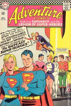 Adventure Comics No.350 - November 1966 Cover Pencils Curt Swan & Inks George Klein
