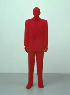 Katharina Fritsch, Dealer, 2001, polyester and paint, 75 x 23 x 16