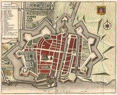 Gorinchem 1745 Tirion