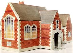 School and Book Store -Toys and Stuff: Kellogg's UK Paper Village