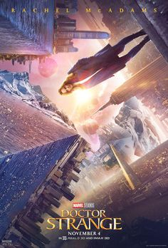 Marvel has released three Doctor Strange character posters featuring Benedict Cumberbatch, Rachel McAdams, and Benedict Wong, while a fresh batch of stills take a closer look at the hero's origin story. Marvel Doctor Strange, Doctor Strange Poster, Doc Strange, Rachel Mcadams, Benedict Cumberbatch, Ms Marvel, Marvel News, Marvel Women, Marvel Heroes