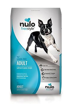 Nulo Grain Free Dog Food All Natural Adult Dry Pet Food for Large and Small Breed Dogs Salmon 24lb >>> You can get more details by clicking on the image.