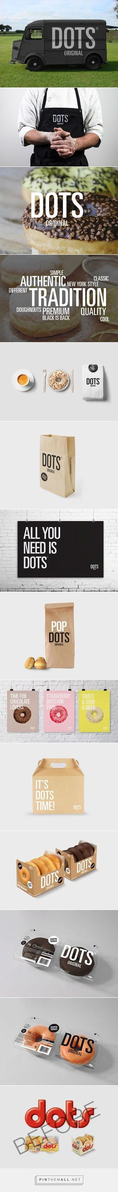 Dots doughnuts rebrand and new #packaging design.