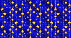 Animated Yellow Stars eBay Template FreeAuctionDesigns.com