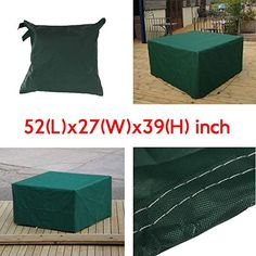OAGTECH 134x70x99cm Garden Outdoor Furniture Waterproof Breathable Dust Cover Table Shelter -- Details can be found by clicking on the image.