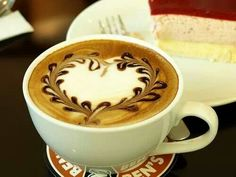 Coffe heart