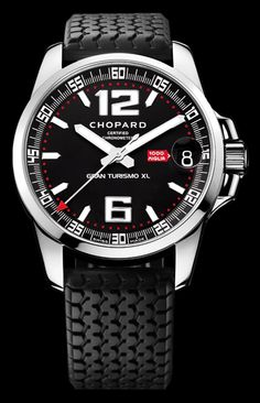 119896859c0 Chopped Mile Migila Gran Turismo XL automatic stainless steel Chopard