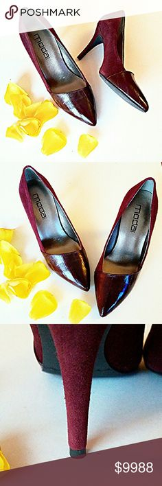 COMING SOON! LISTING IN PROGRESS-Please 'LIKE' this listing to be automatically notified when available for sale! Moda Spana Shoes Heels