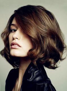 Hand Knotted Trendy Exquisite Cut Bob Hairstyle