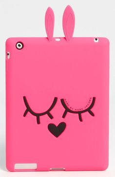"""Marc by Marc Jacobs """"Katie the Bunny"""" iPad Case, $58 * jade would totally like this"""