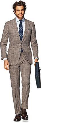 Suit_Brown_Check_Lazio_P3915I