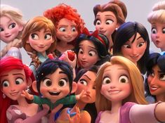 When the first trailer for Ralph Breaks the Internet — the sequel to successful animation movie Wreck-It Ralph from Disney — dropped it gave a chance to anyone and everyone Continue Reading Disney Pixar, Disney Animation, Disney Diy, Cute Disney, Disney Girls, Disney And Dreamworks, Disney Magic, All Disney Characters, All Disney Princesses